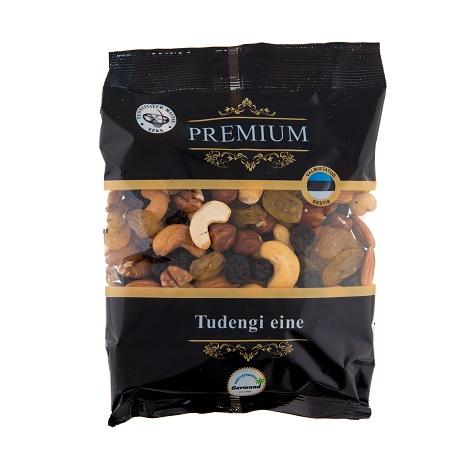 pähklite ja rosinate segu