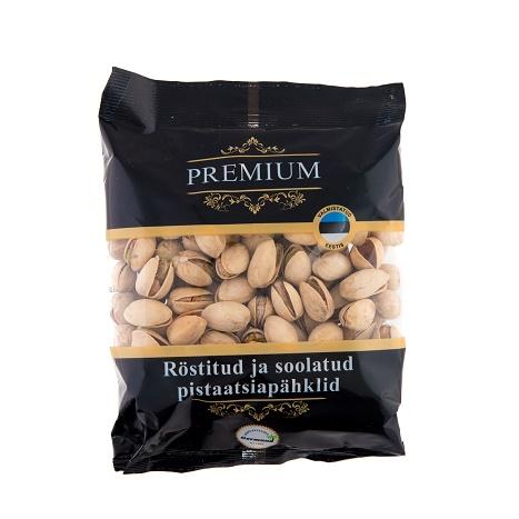 eriti suured röstitud ja soolatud pistaatsiapähklid