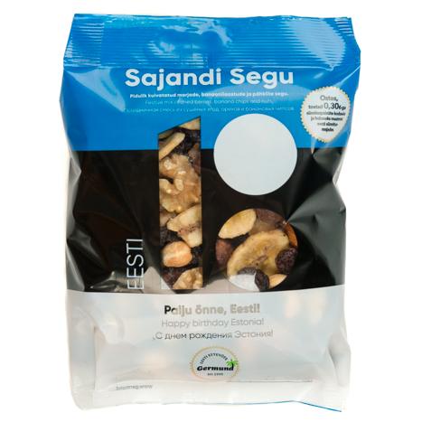 Pähklite ja kuivatataud puuviljade segu